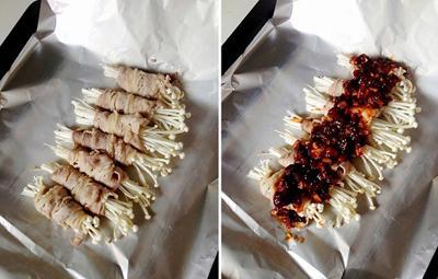 Bò cuộn nấm nướng giấy bạc: chỉ nhìn thôi đã thèm 3