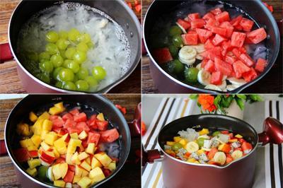 Chè trái cây mát lạnh đã ăn là mê mẩn 4