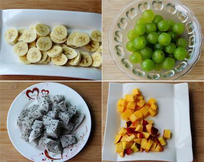 Chè trái cây mát lạnh đã ăn là mê mẩn 2
