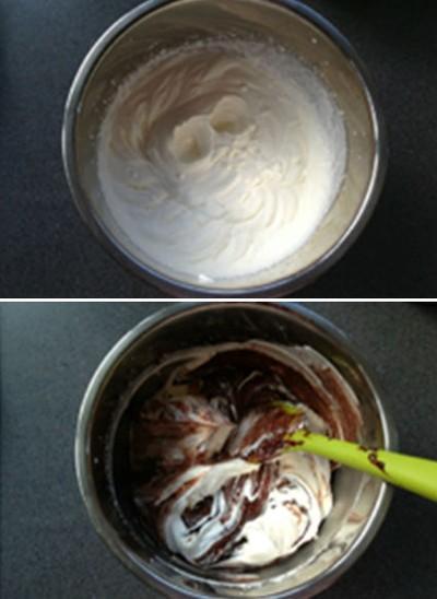 Làm kem chocolate đơn giản không cần máy 4