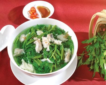 Món ngon mỗi ngày - Canh cá lóc rau cần