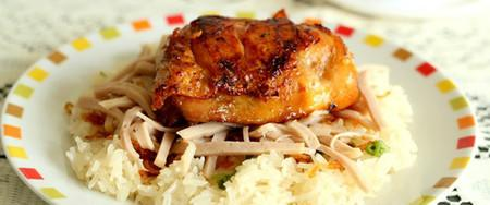 Xôi gà cho bữa sáng thật ngon - Nội Trợ - Các món ăn ngon - Dạy nấu ăn gia đình