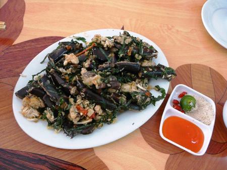 Sam 7 món - Thưởng thức ẩm thực Cát Bà 1