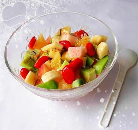Cặp đôi hoàn hảo 2011 sua22 Cách làm hoa quả dầm sữa chua