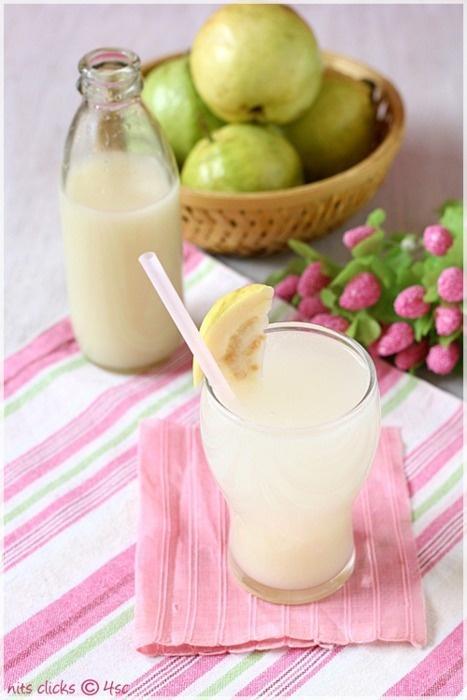 guava spritzer. Yummy <3 Delicious