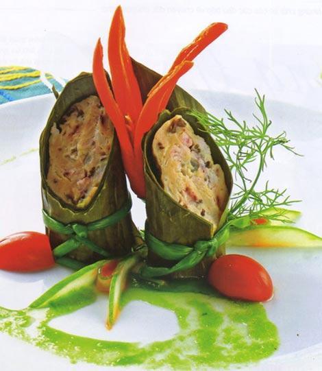 Nét duyên của ẩm thực Việt, Ẩm thực, am thuc Viet, am thuc Viet Nam, com ga hap la dua, ganh rau cu, goi thuyen hoa, cha muc goi la chuoi, cha muc, goi, la dua, am thuc, mon ngon de lam, mon ngon