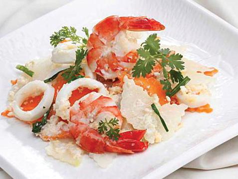Món ngon mỗi ngày - Su hào xào hải sản