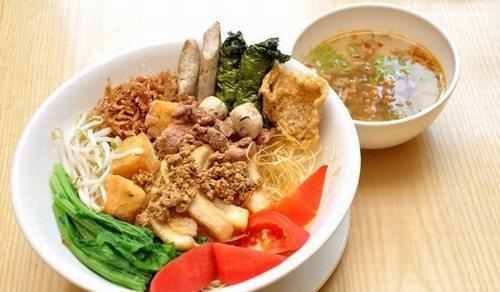 Miến trộn thập cẩm - các món trộn ở Hà Nội