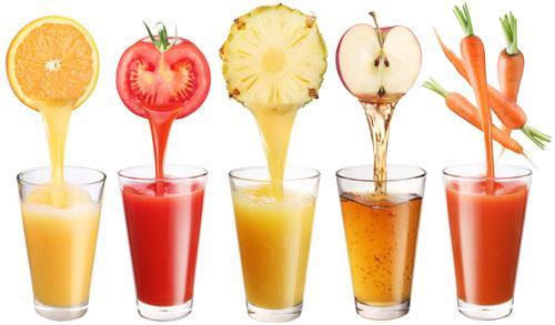 Nước ép hoa quả giúp giảm cân nhanh