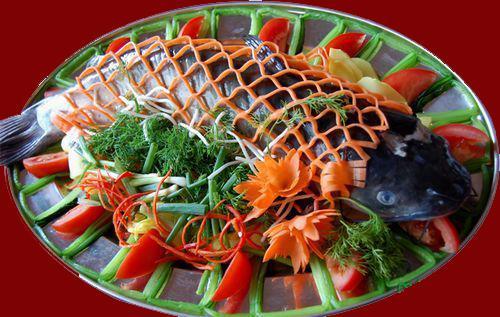 Cá song - Thưởng thức ẩm thực Cát Bà 3