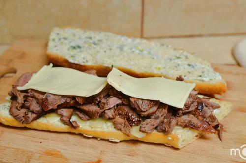 Bánh mì sandwich kẹp thịt ngon khó cưỡng - 9