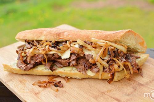 Bánh mì sandwich kẹp thịt ngon khó cưỡng - 10