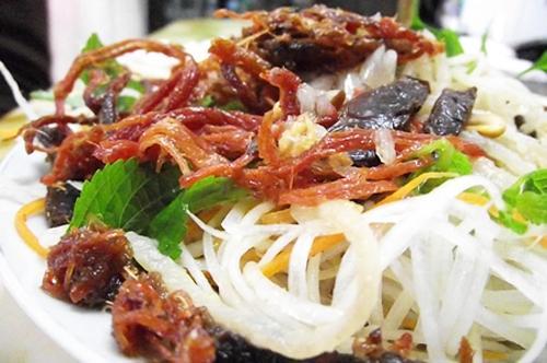 Nộm - các món trộn ở Hà Nội