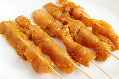 Thịt gà nướng xiên kiểu Thái - 2