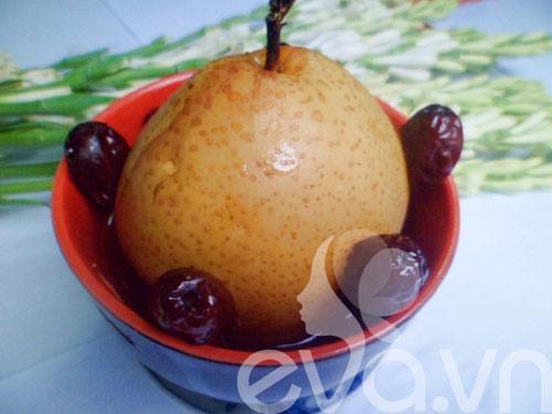 Chè quả lê táo đỏ