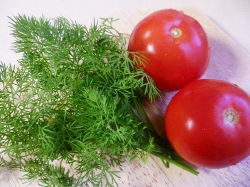 Các loại rau cho vào canh.