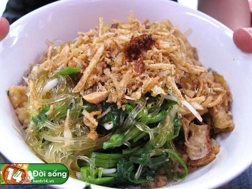 Miến trộn - các món trộn ở Hà Nội