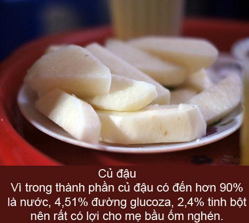 Đồ ăn 'trị' ốm nghén hiệu quả - 5