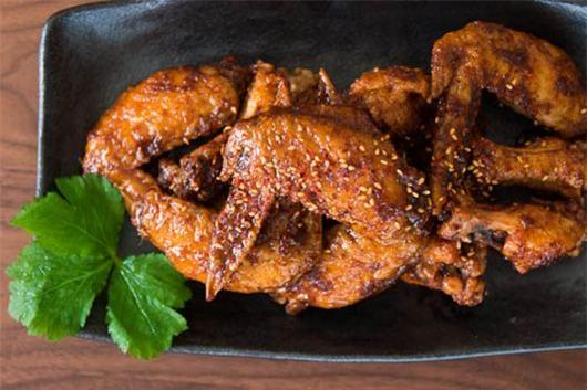 Cánh gà chiên kiểu Hàn Quốc