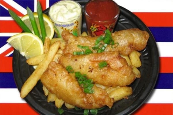Đến Anh thưởng thức fish and chips - 1