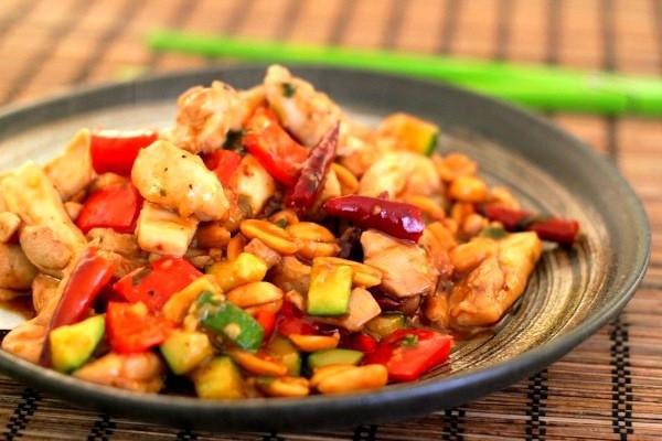 Gà Kung Pao cay cay mang hương vị cực hay 9