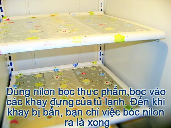 Mẹo vặt hữu ích cho người lười lau dọn tủ lạnh 3