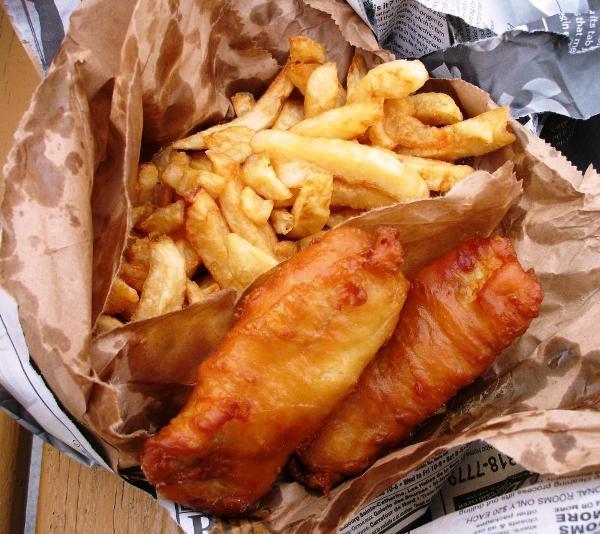 Đến Anh thưởng thức fish and chips - 2