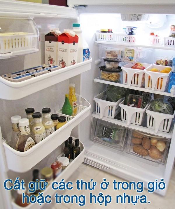 Mẹo vặt hữu ích cho người lười lau dọn tủ lạnh 1