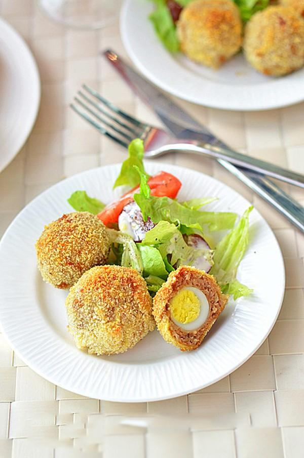 Giòn rụm mê li món trứng cút bọc thịt băm 7