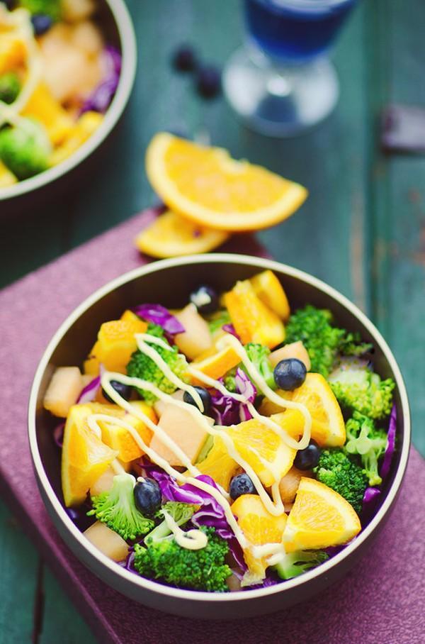 Salad rau quả làm nhanh ăn ngon mà bắt mắt - 0h ngày 25/7 1